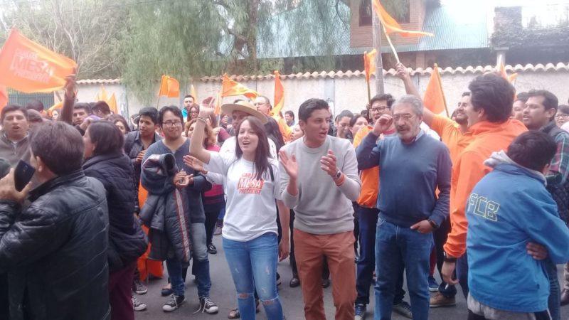 Comunidad Ciudadana de Tarija realiza vigilia y pide transparencia en el cómputo de votos