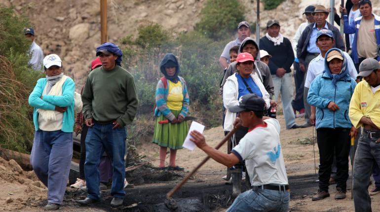 Indígenas de Ecuador confirman