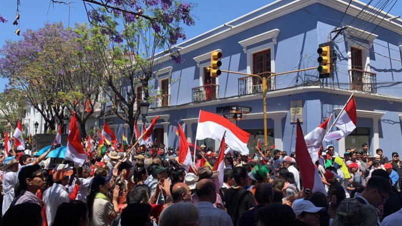 Plataforma de la UAJMS de Tarija anuncia su respaldo a Camacho y Pumari en las elecciones