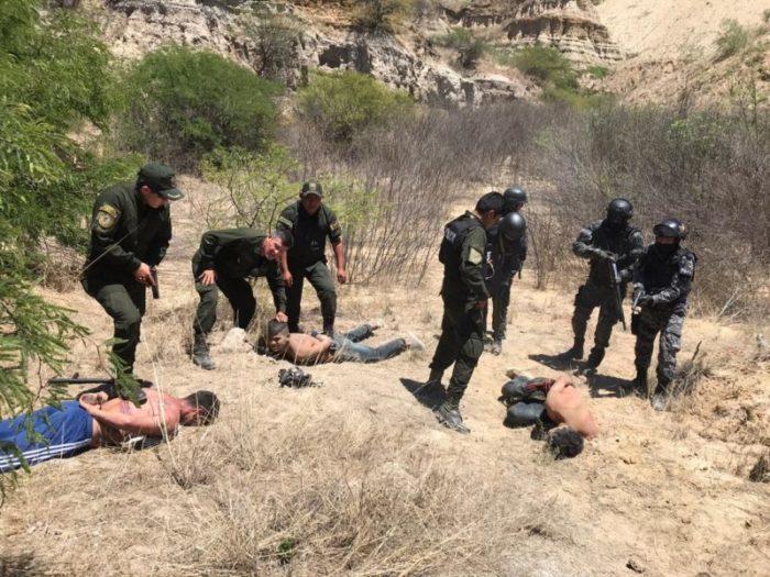 Policía recaptura a 3 reos de alta peligrosidad que fugaron del penal de Tarija