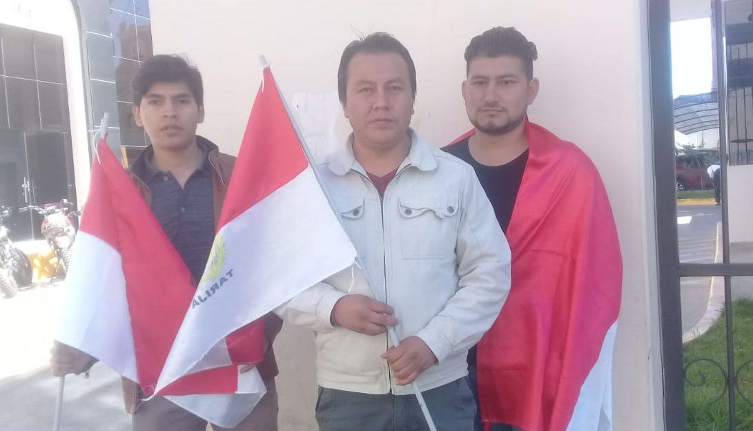 Organización Rojo y Blanco llama a la calma y al cese de movilizaciones en Tarija