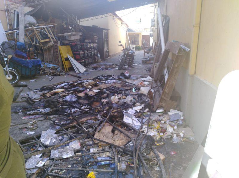 Justicia logra cinco imputaciones por la quema de las instalaciones del TED de Tarija el 2019