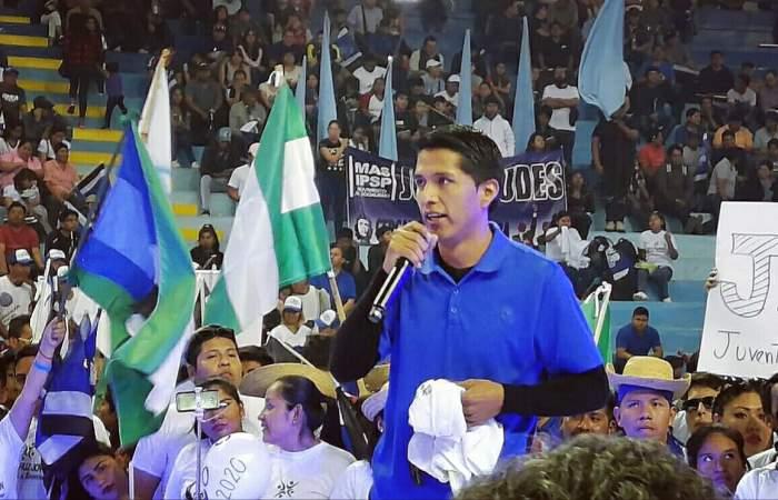 Convocan a Andrónico Rodríguez a dejar de convulsionar al país y ser el nuevo actor político del MAS