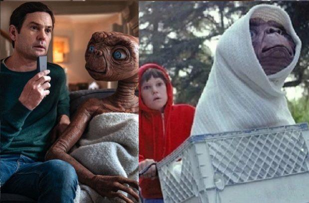 E.T. volvió a la Tierra 37 años después para reunirse con su amigo Elliott en un comercial conmovedor