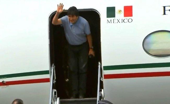 El gobierno mexicano gastó 106.000 dólares por trasladar a Evo Morales desde Bolivia