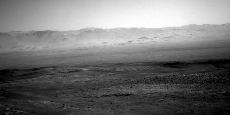 """El """"misterioso"""" paisaje en Marte que capturó Curiosity, el robot de la NASA"""