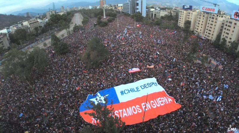 Cruz Roja cifró el número de heridos en las protestas de Chile en más de 2.500
