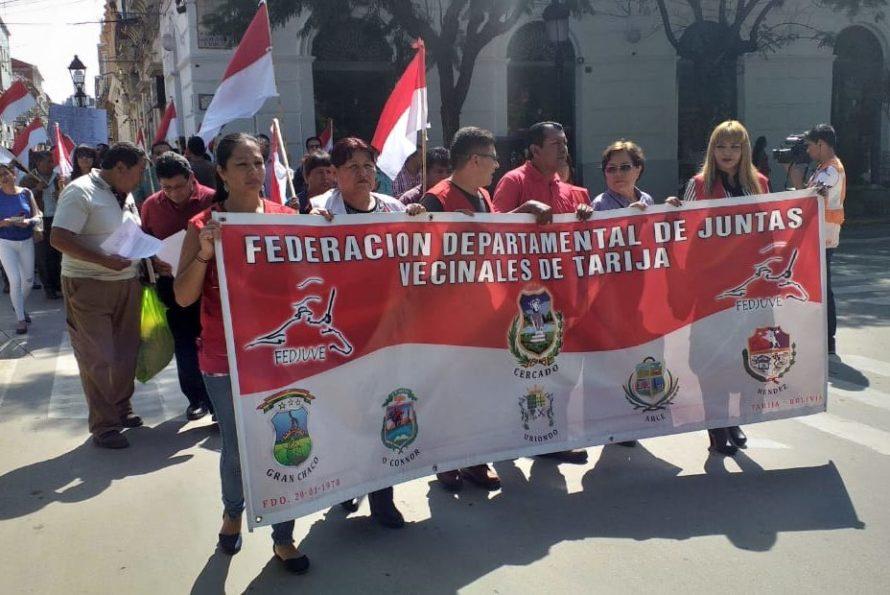 Fedjuve de Tarija respalda al Comité Cívico y anuncia una marcha en defensa de la democracia