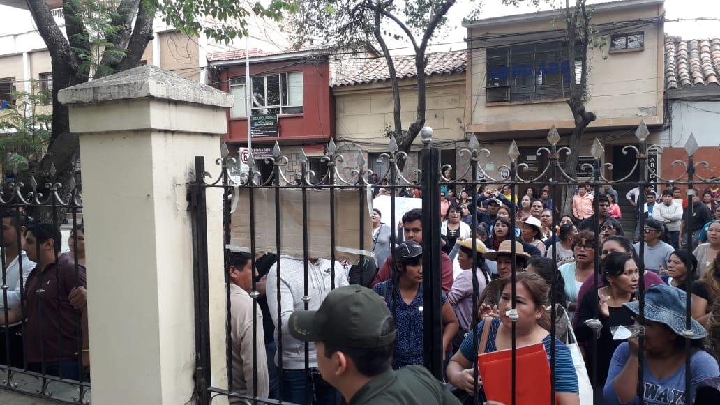 Tribunal de Justicia rechaza acción popular presentada en contra del paro cívico en Tarija