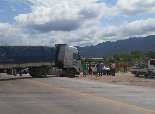 Transporte Pesado de Yacuiba decide unirse al paro e inicia movilizaciones