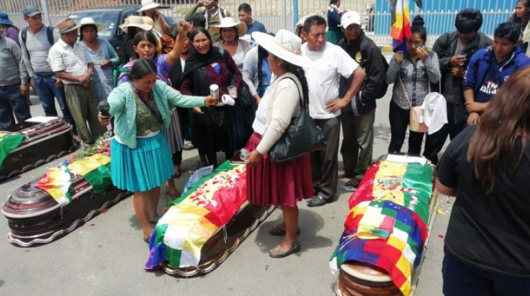 Sube a 9 la cifra de fallecidos en los enfrentamientos de Sacaba