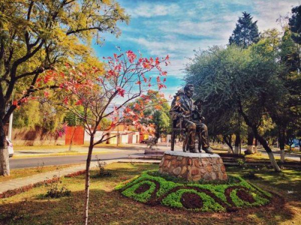 Más de 45 especies de plantas y árboles engalanan una de las principales avenidas de Tarija