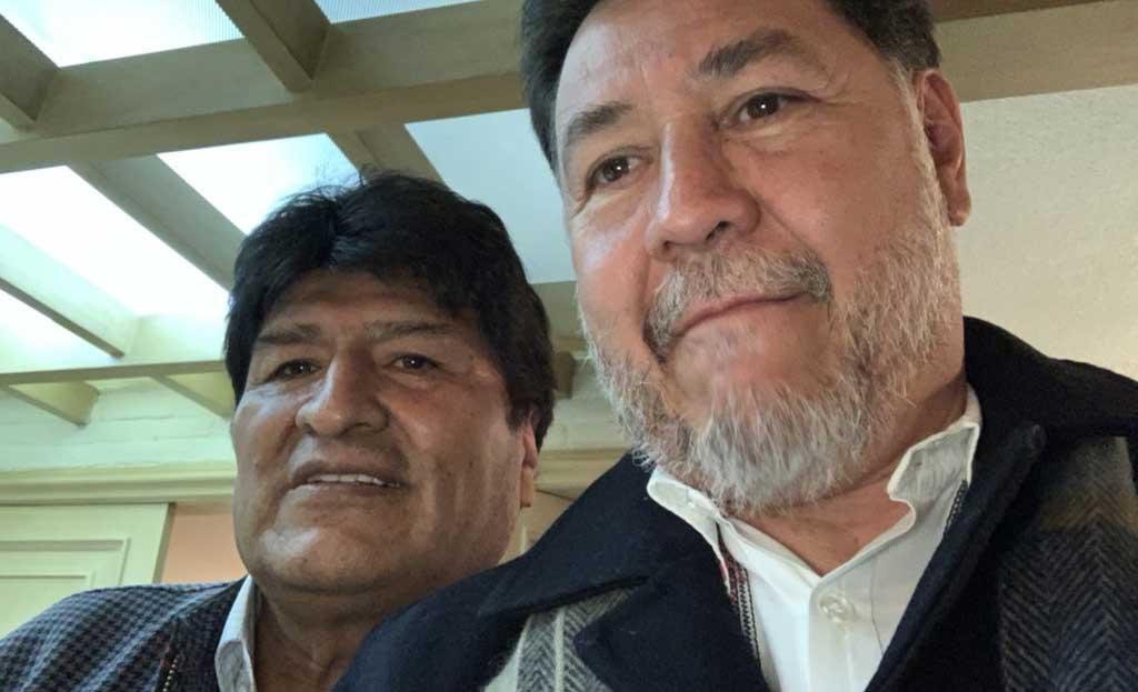 Diputado mexicano solicita a sus colegas aporte mensual para Evo Morales