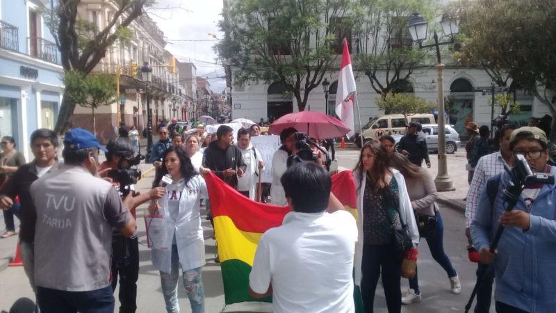 Trabajadores de Salud de Tarija piden la continuidad de los items del SUS