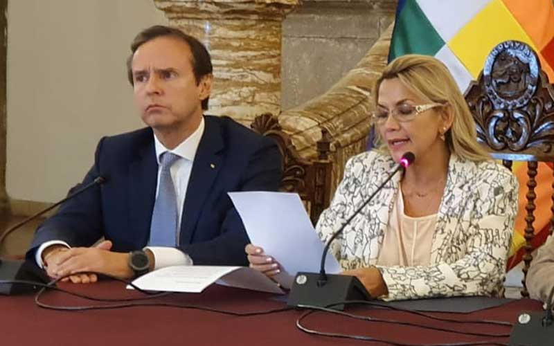 Presidenta Añez designa a Quiroga como delegado internacional para denunciar al MAS y el vandalismo
