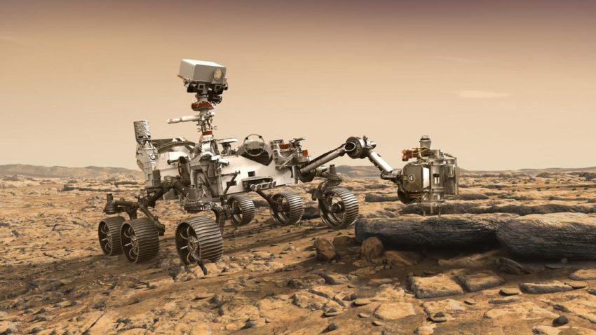 La NASA buscará fósiles microscópicos en Marte en 2021 con un nuevo robot