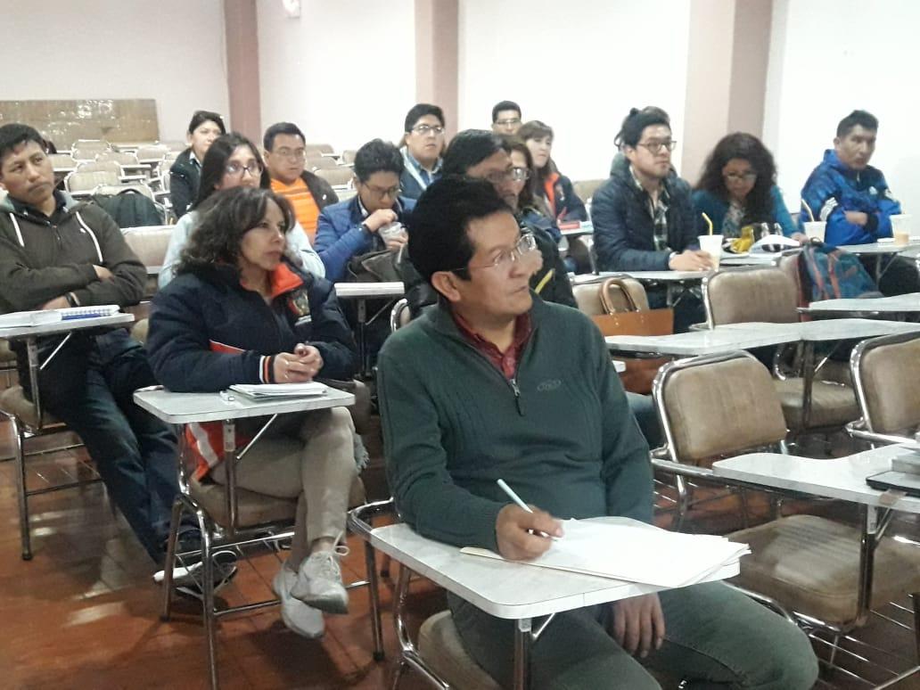 Expertos internacionales capacitan a fiscales bolivianos en nuevas técnicas de investigación