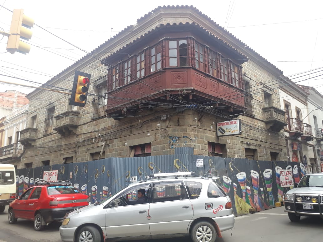 Garantizan estabilidad de la casa de Isaac Attie tras las últimas lluvias en Tarija