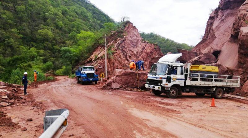 Habilitan desvío por derrumbe en la ruta hacia el Gran Chaco