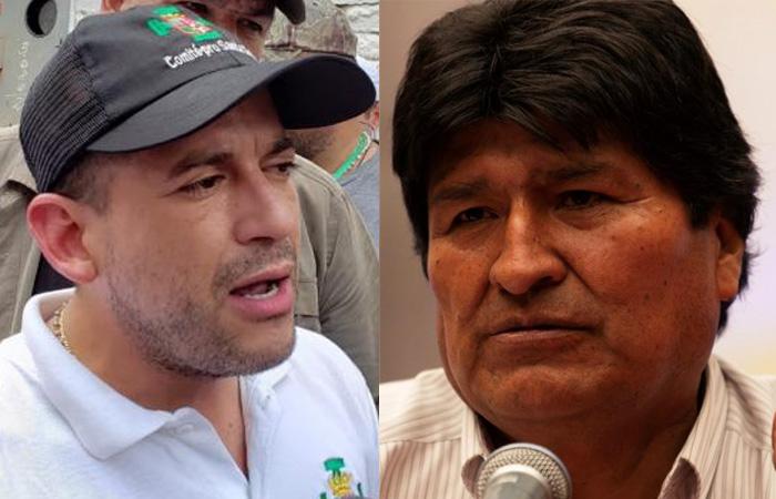 """Morales y Camacho se enfrascan en acusaciones de """"golpismo y dictadura"""""""