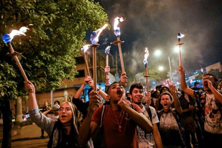 Malestar posconflicto: la irrupción de los jóvenes en la protesta en Colombia