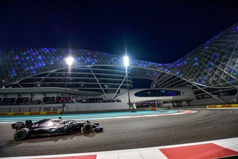 Hamilton gana en Abu Dabi el último Gran Premio de la temporada de Fórmula 1