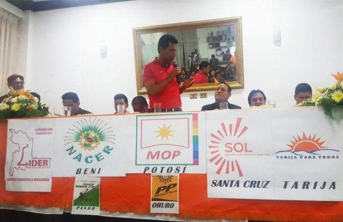 Agrupaciones ciudadanas de 9 regiones fundan la nueva alianza