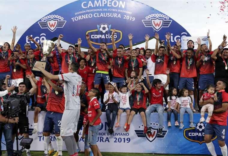 Wilstermann logra su título 15 tras coronarse campeón del fútbol boliviano