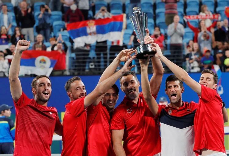 Con Novak Djokovic como líder, Serbia se consagró campeón de la primera edición de la ATP Cup