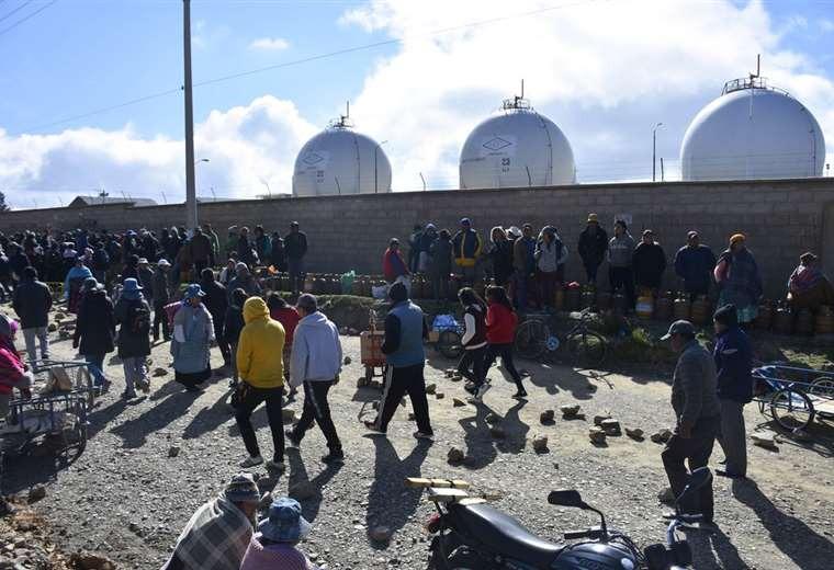 Gobierno anuncia cerco perimetral a Senkata y una nueva planta en la zona Sur de La Paz
