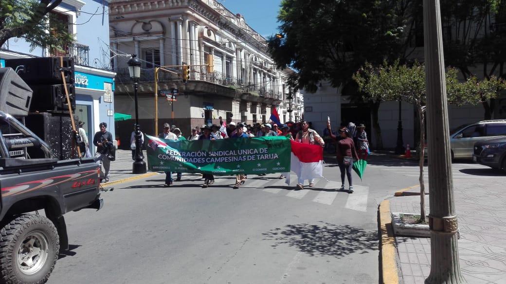 Campesinos de Tarija piden a la Gobernación la cancelación del Prosol de la pasada gestión