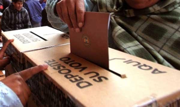 Cinco alianzas se presentaron para participar en las Elecciones del 3 de mayo