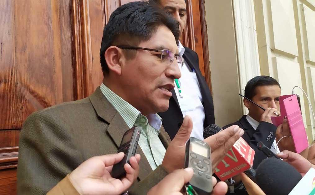 Patzi: Si David Choquehuanca va como candidato podría declinar mi postulación
