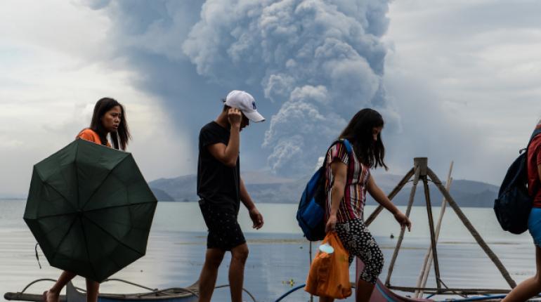 Filipinas en estado de alerta por el volcán Taal