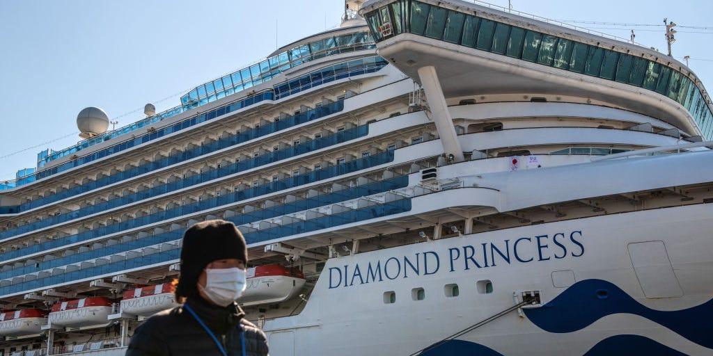 Detectaron 60 nuevos casos de coronavirus en el crucero en cuarentena en Japón