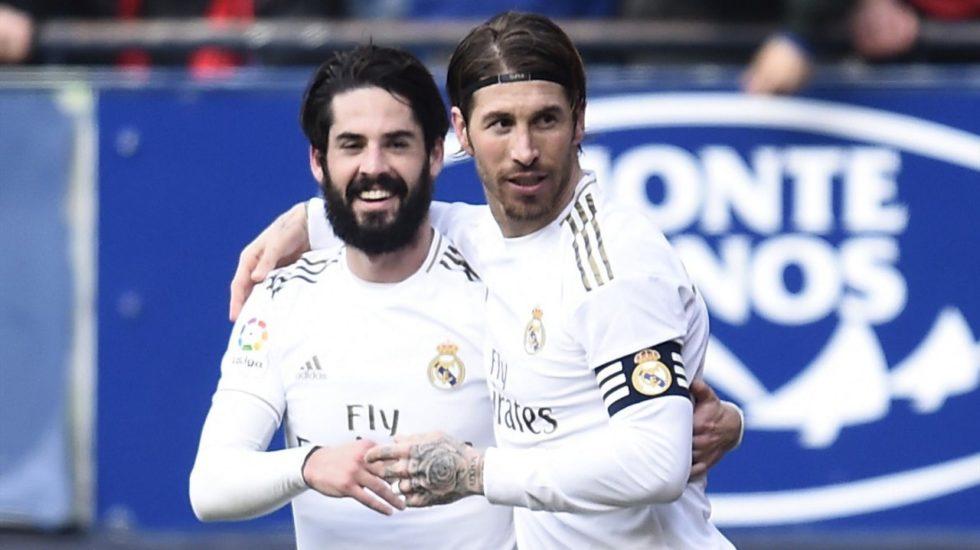 Real Madrid vence al Osasuna 4 a 1 y mantiene el liderato en la Liga Española