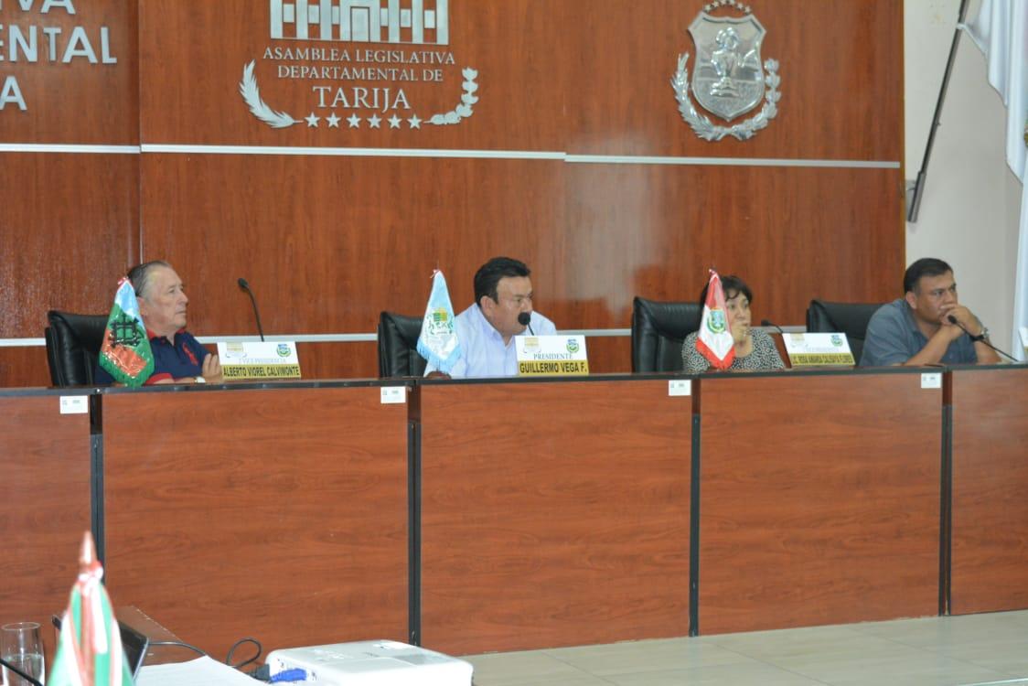 Asamblea de Tarija aprueba ley complementaria a la norma de personalidad jurídica de Setar