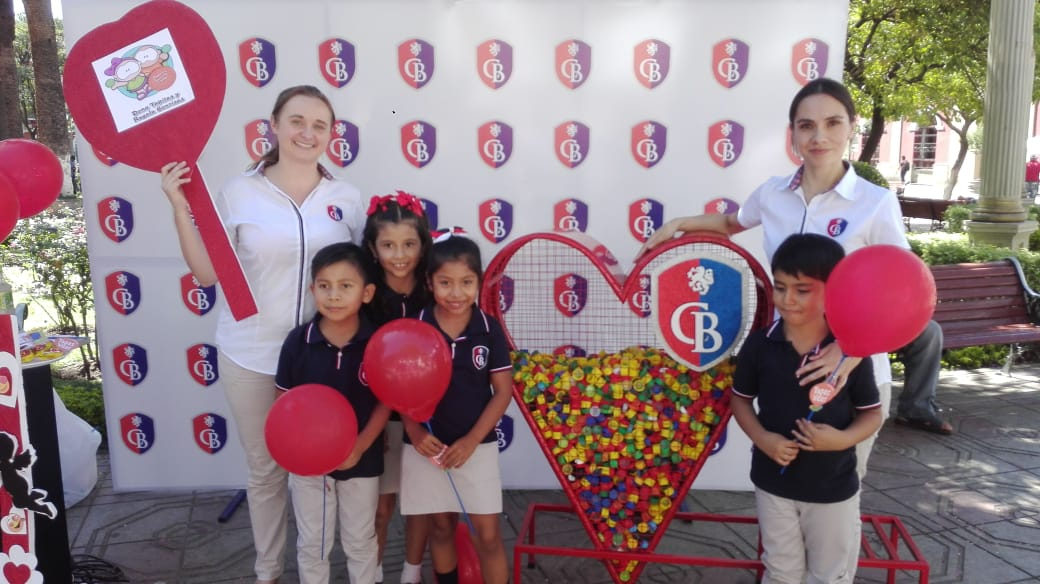 Colegio Británico de Tarija realiza campaña de recolección de tapas en favor de personas con cáncer