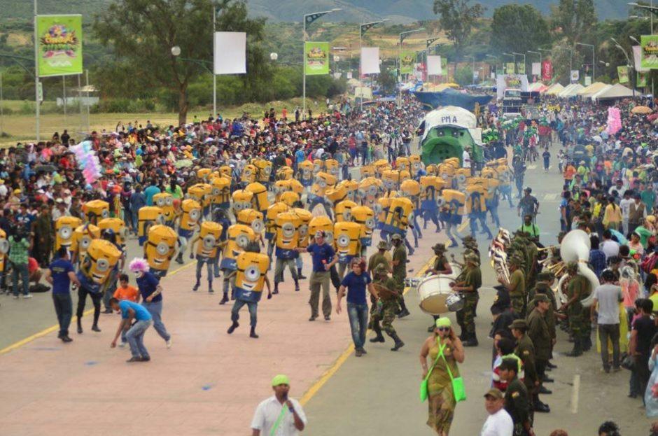 Corso de Tarija, el momento más esperado por la población en Carnaval