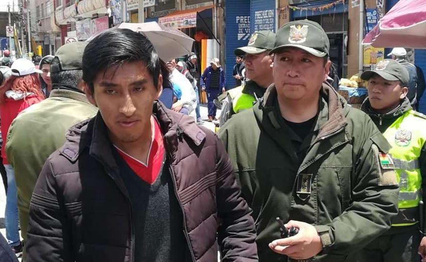 Dos arrestados por agresión a binomio de Juntos en El Alto