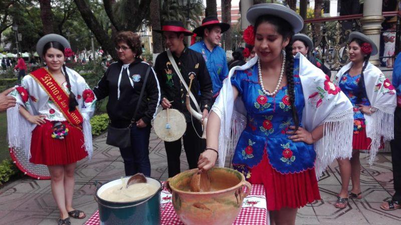 Invitan a la población tarijeña a disfrutar un carnaval en Obrajes