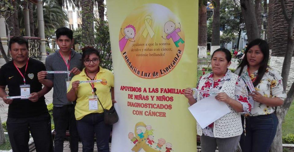 Fundación invita a la gran caminata solidaria en apoyo a los niños con cáncer en Tarija