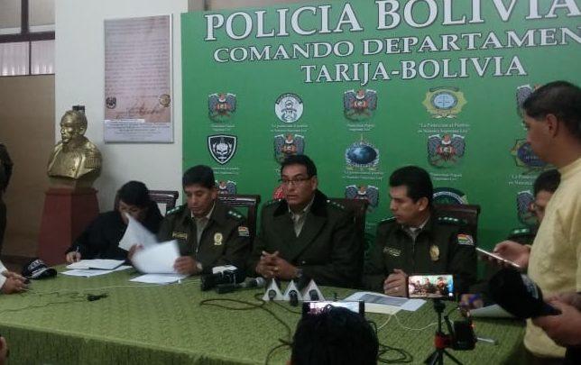Policía atiende más de 20 hechos de violencia familiar durante el Carnaval de Tarija