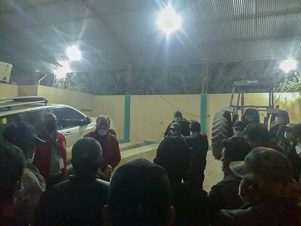 Gobernador Oliva se reúne con repatriados de Yacuiba, Caiza, Entre Ríos y Tarija