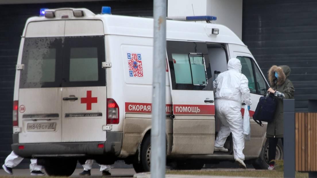 Rusia registró 150 muertos por coronavirus, su nuevo récord diario