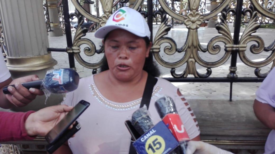 Trabajadores independientes de Tarija piden la entrega de la canasta ofrecida por el Gobierno