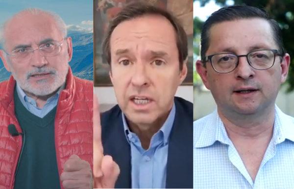 Mesa, Quiroga y Ortiz dispuestos a debatir postergación de elecciones