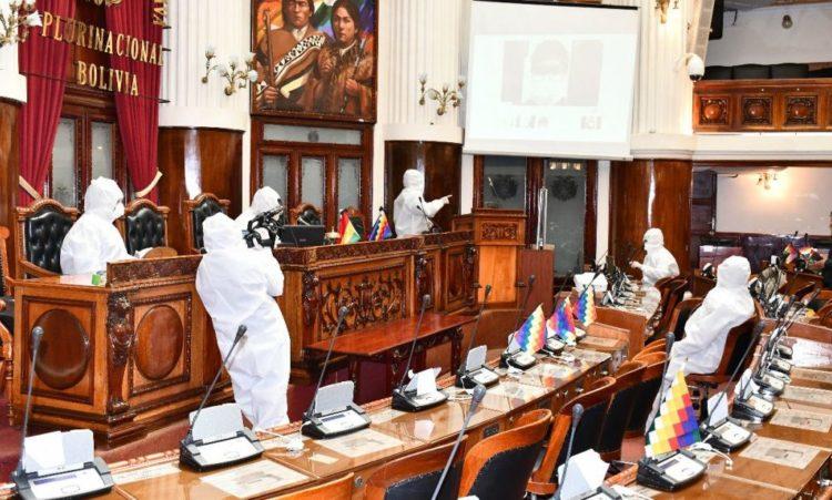 Suspenden por una semana las sesiones en la Cámara de Diputados por casos de COVID-19