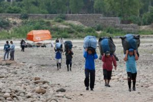Policía niega que haya existido enfrentamientos con bagalleros en Bermejo