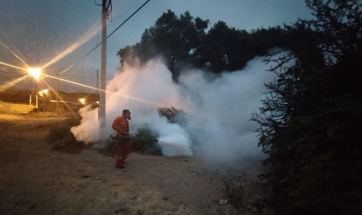 Más de 50 técnicos y maquinaria especial desinfectarán varios barrios de Tarija